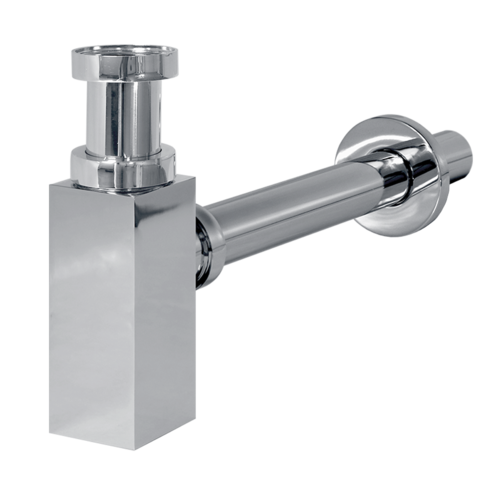 "Washbasin siphon G5 / 4 ""metal square"